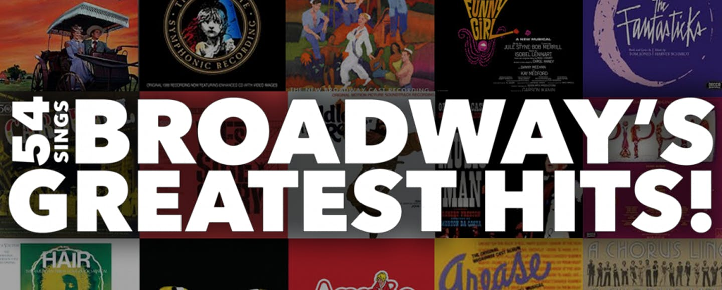 54 Sings Broadway's Greatest Hits
