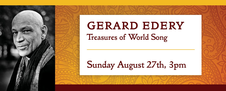 Gerard Edery: Treasures of World Song