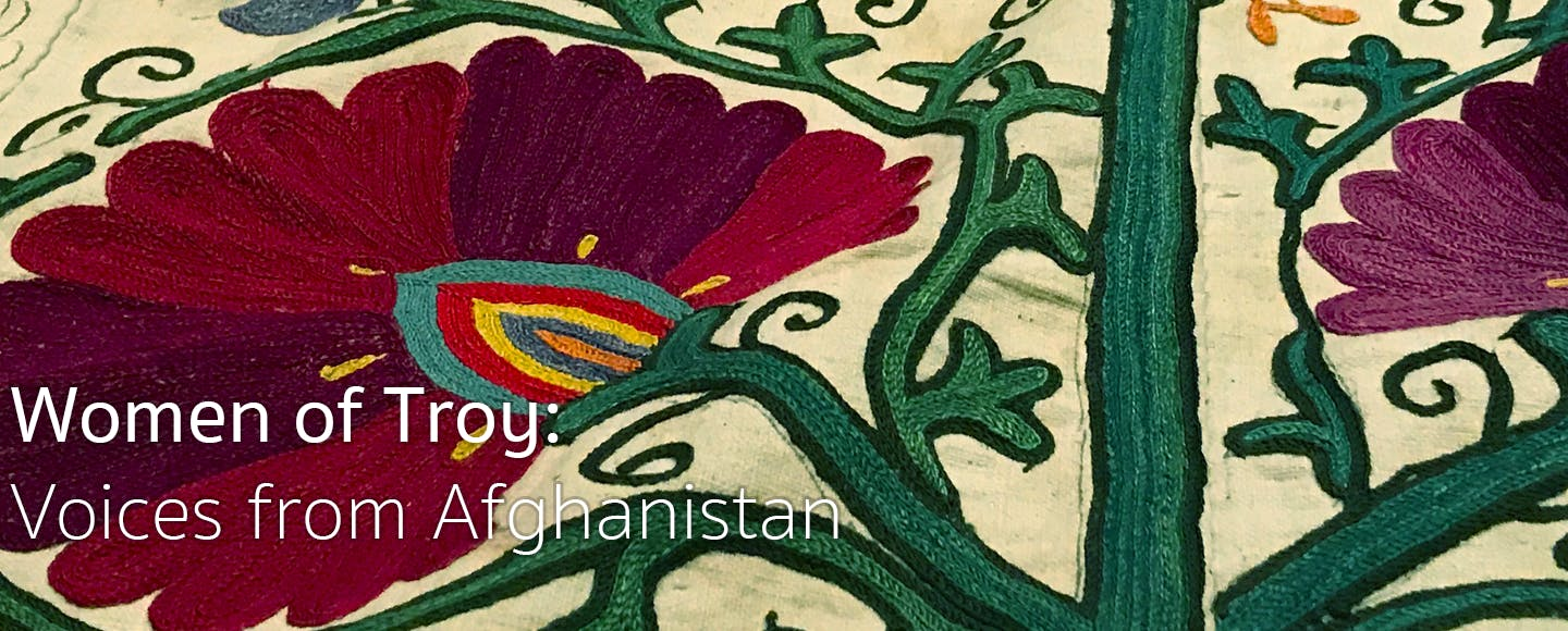 Women of Troy: Voices from Afghanistan