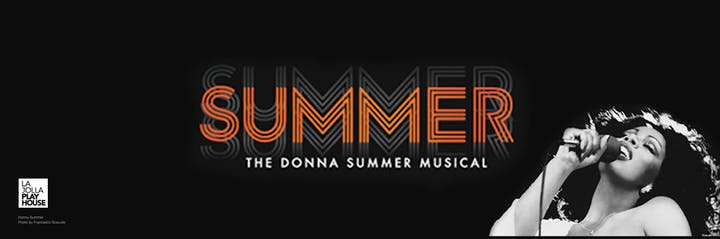 SUMMER: The Donna Summer Musical Logo