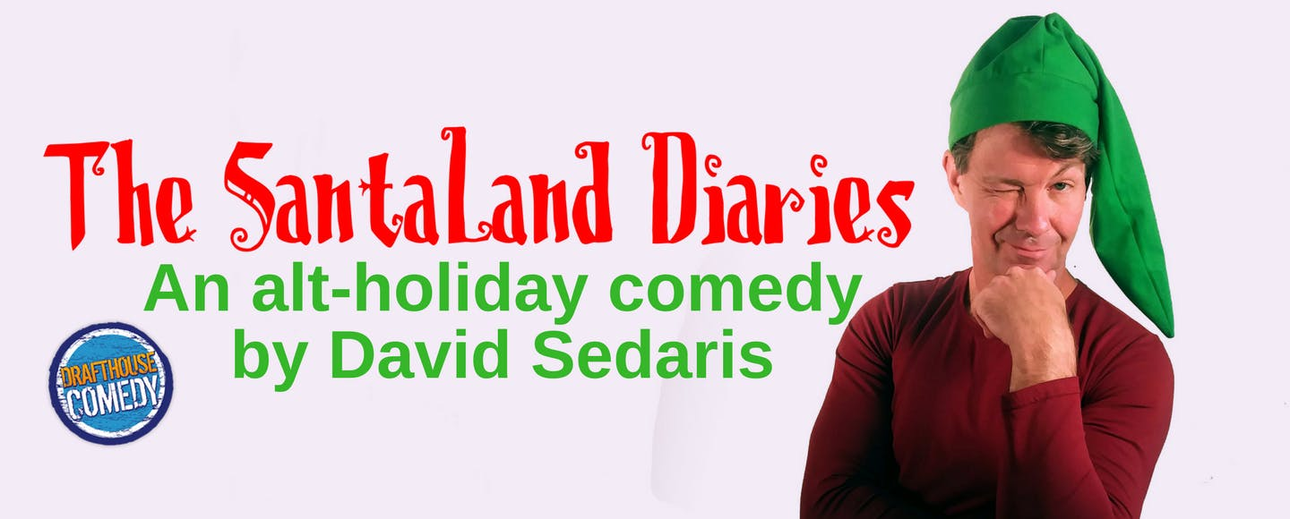The Santaland Diaries at Drafthouse Comedy Theater in DC