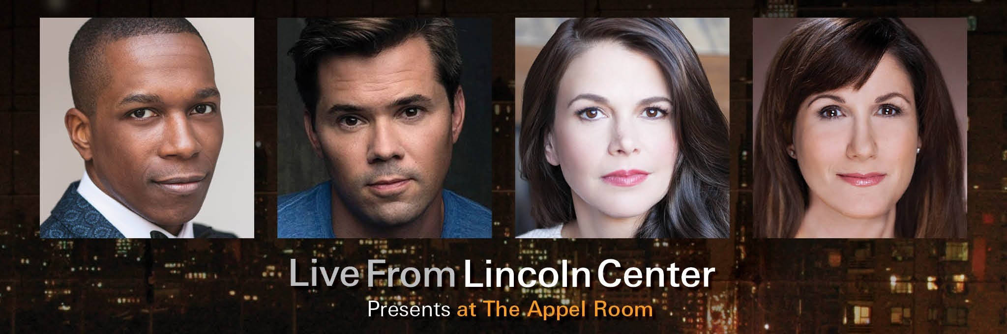 Live From Lincoln Center Presents Leslie Odom Jr. Logo