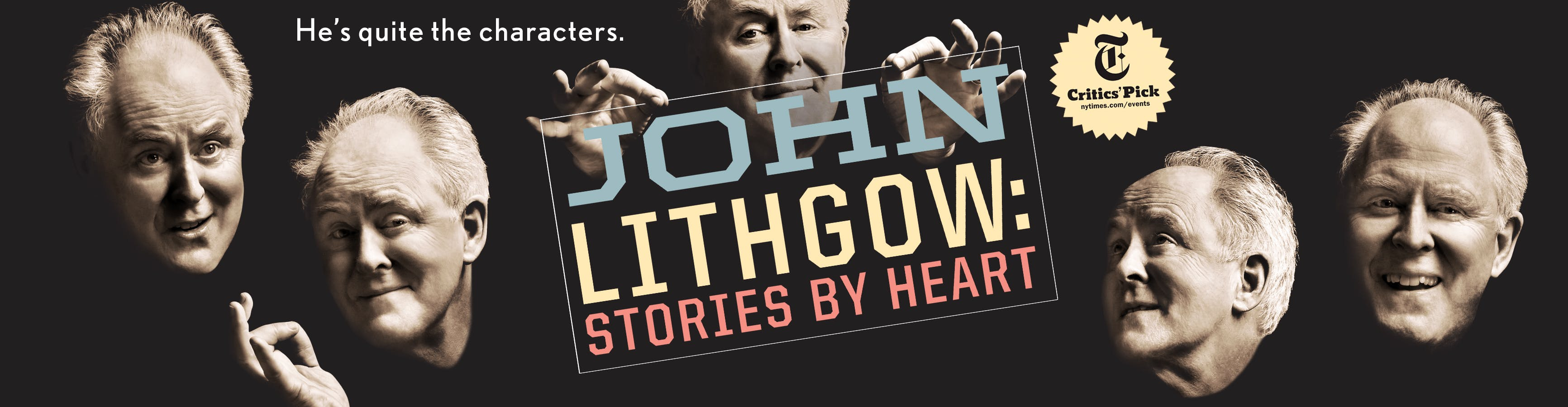 John Lithgow: Stories By Heart Logo