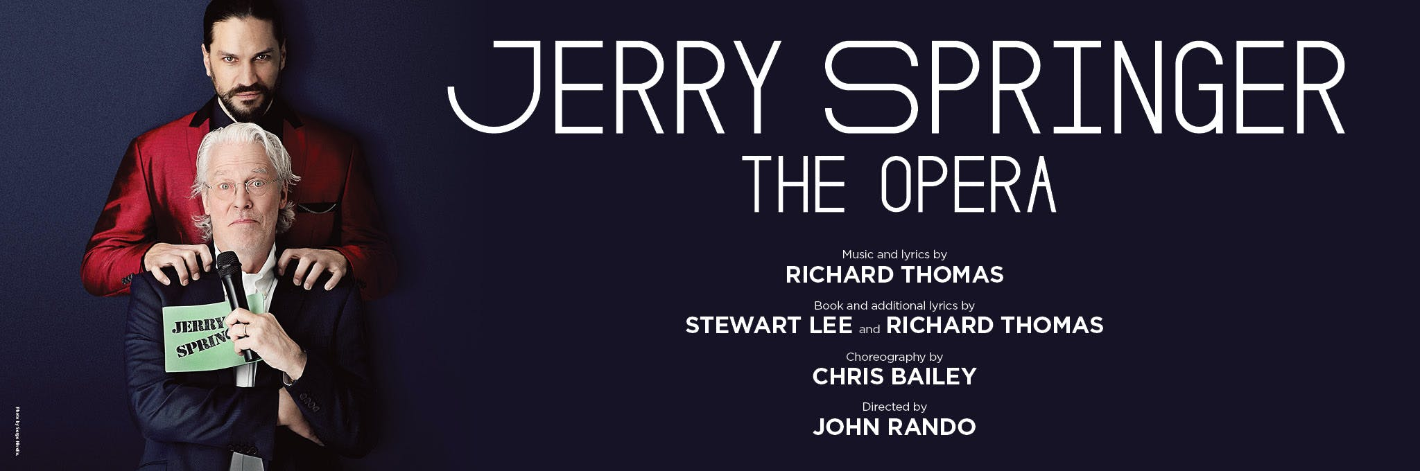 Jerry Springer - The Opera Logo
