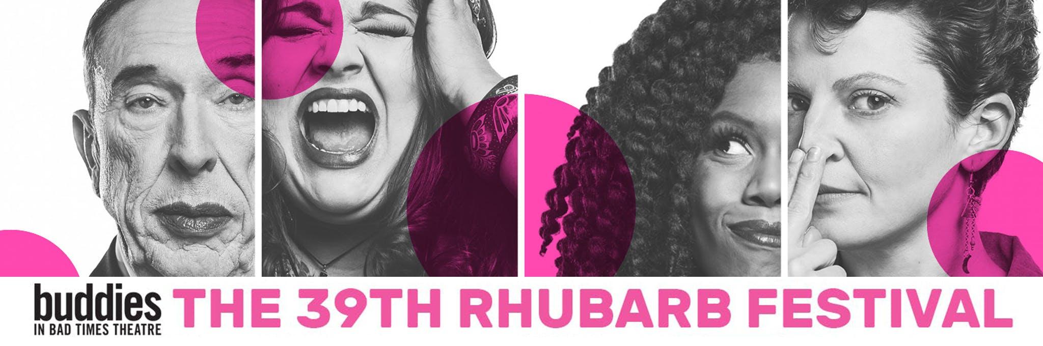 The 39th Rhubarb Festival Logo