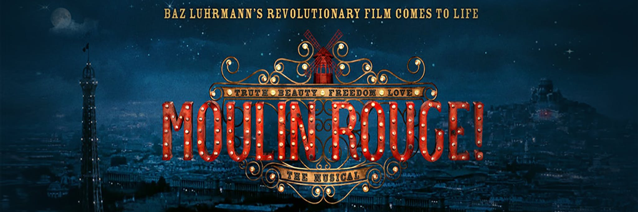 Moulin Rouge! The Musical Logo