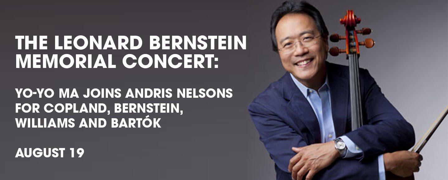 Yo-Yo Ma joins Andris Nelsons for The Leonard Bernstein Memorial Concert