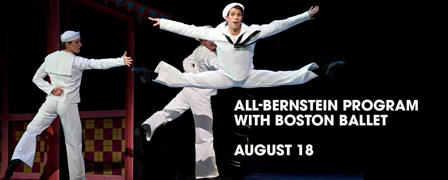 Andris Nelsons conducts an All-Bernstein Program with the Boston Ballet