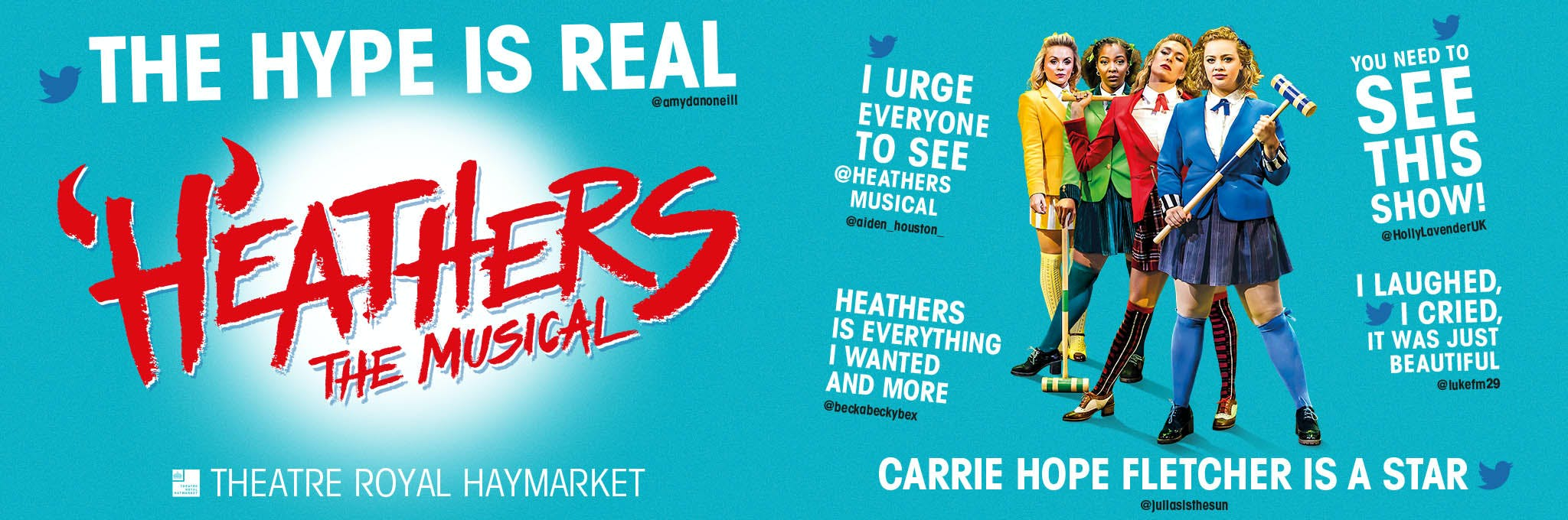Heathers The Musical Logo