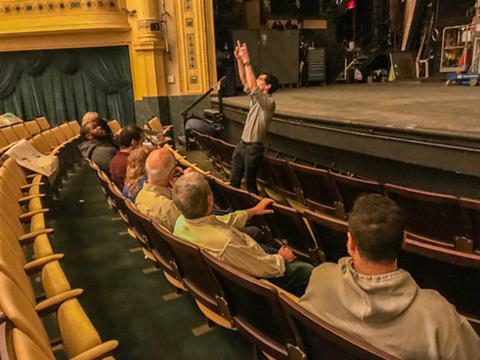 Historic Hudson Theatre Tour Tickets New York Todaytix