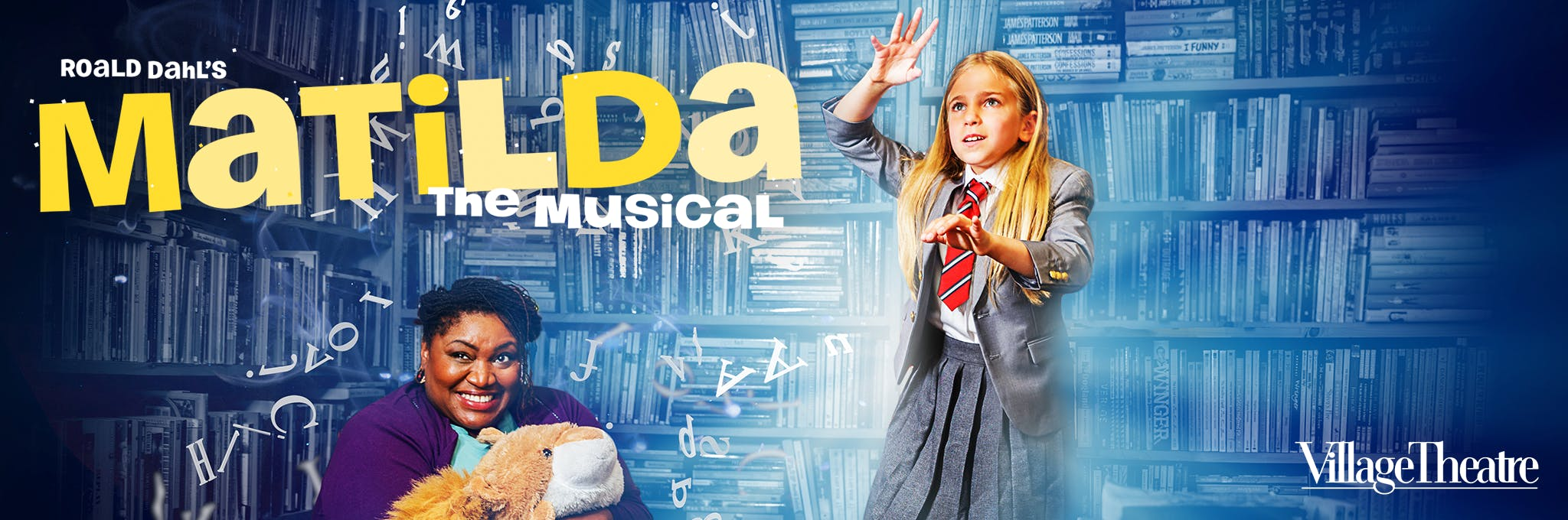 Matilda, The Musical - Issaquah Logo