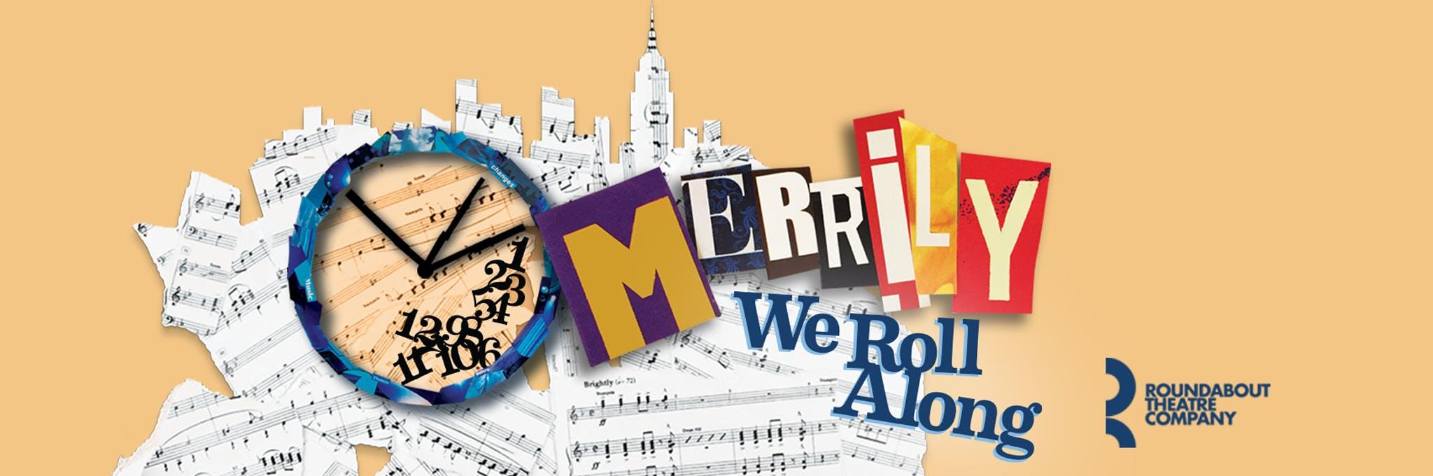Merrily We Roll Along Logo
