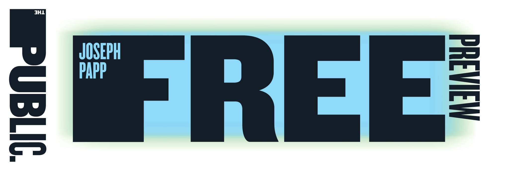 Joseph Papp Free Preview: White Noise Logo