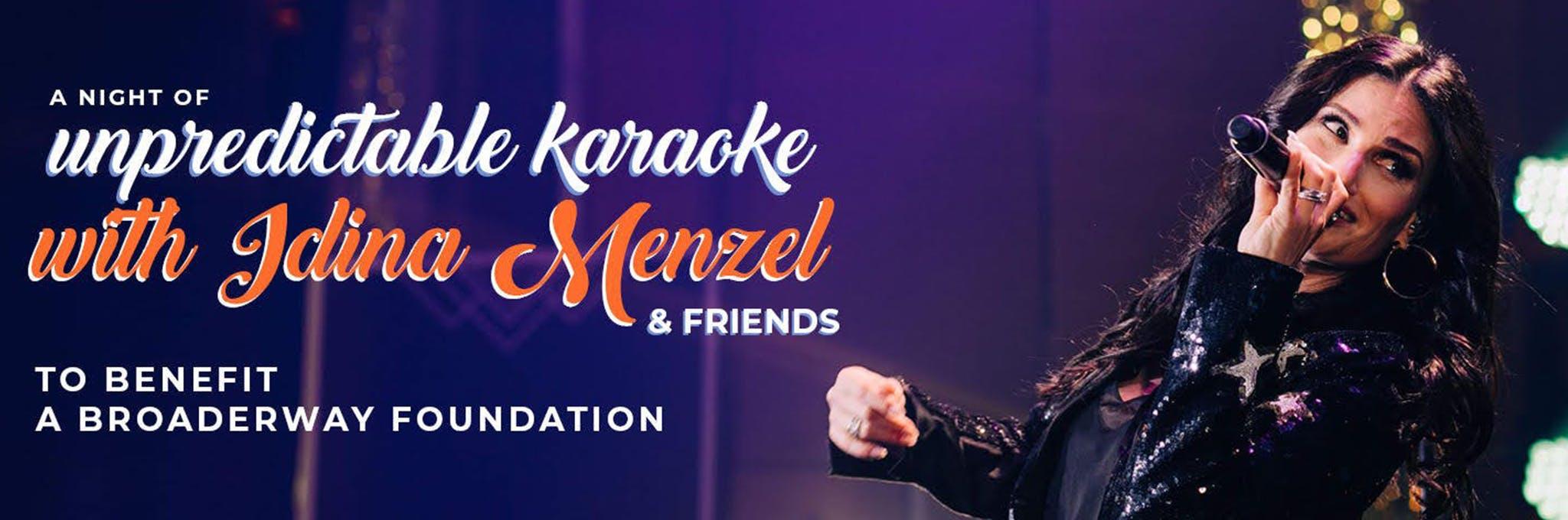A Spectacular Night of Unpredictable Karaoke with Idina Menzel & Friends Logo