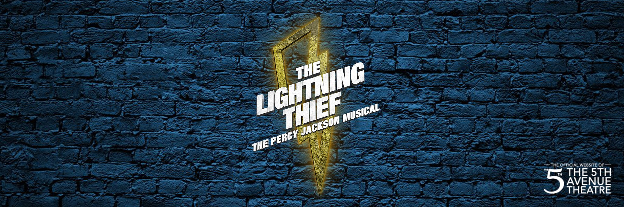 The Lightning Thief: The Percy Jackson Musical Logo