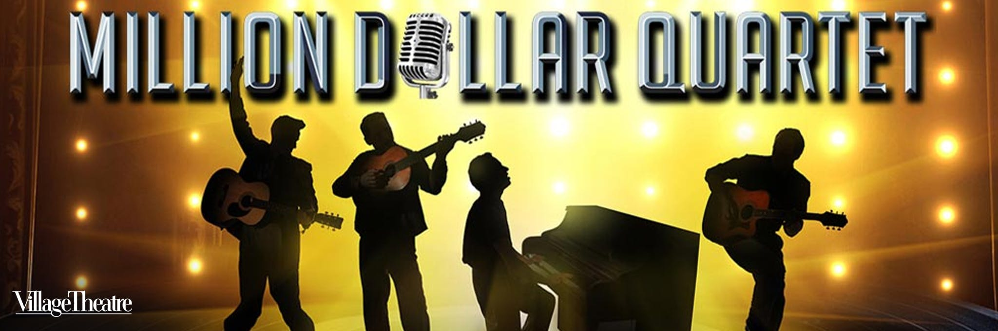 Million Dollar Quartet - Issaquah Logo