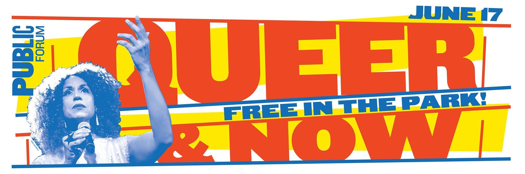 Queer & Now - Senior Accessibility Logo