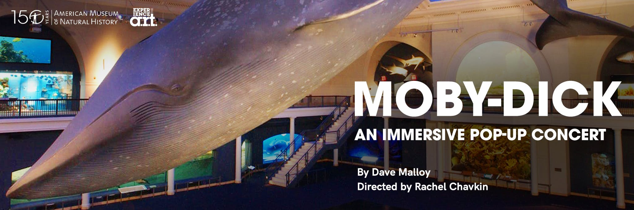 Excerpts from Moby-Dick, In Concert Under the Whale Logo
