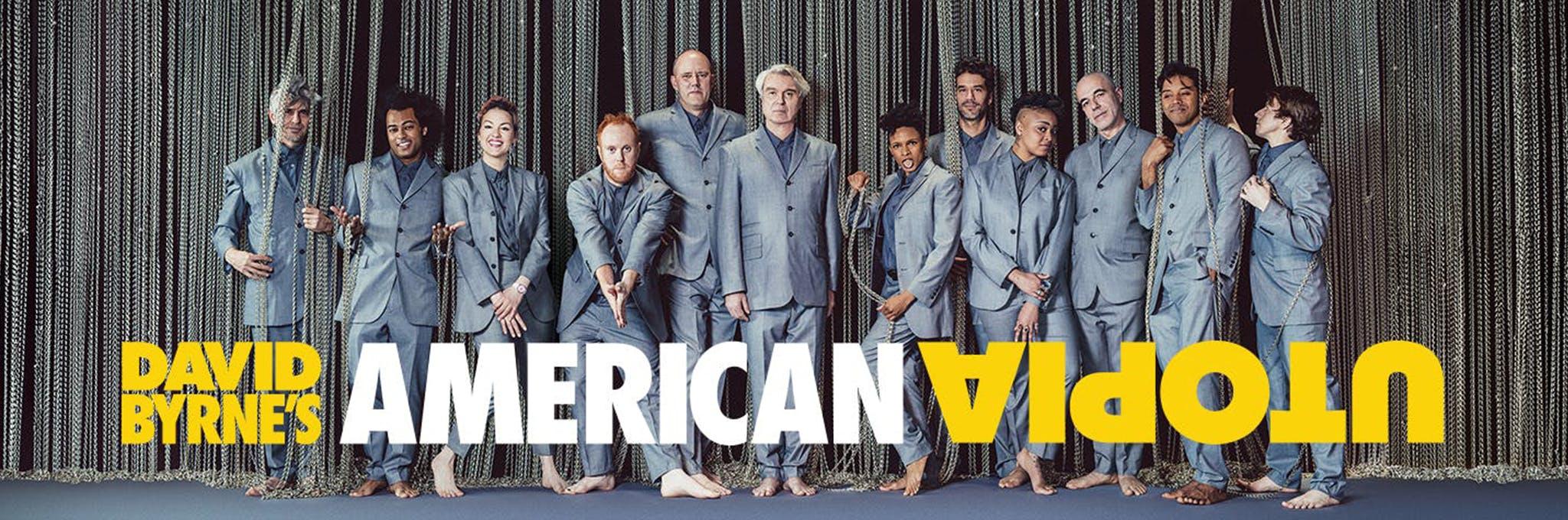 David Byrne's American Utopia Logo