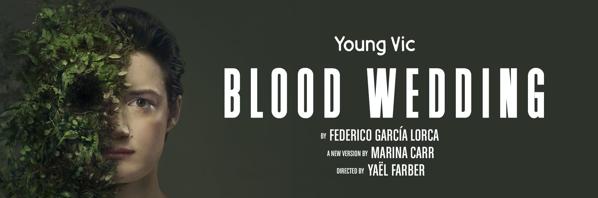 Young Vic - £5 First Preview Blood Wedding Logo