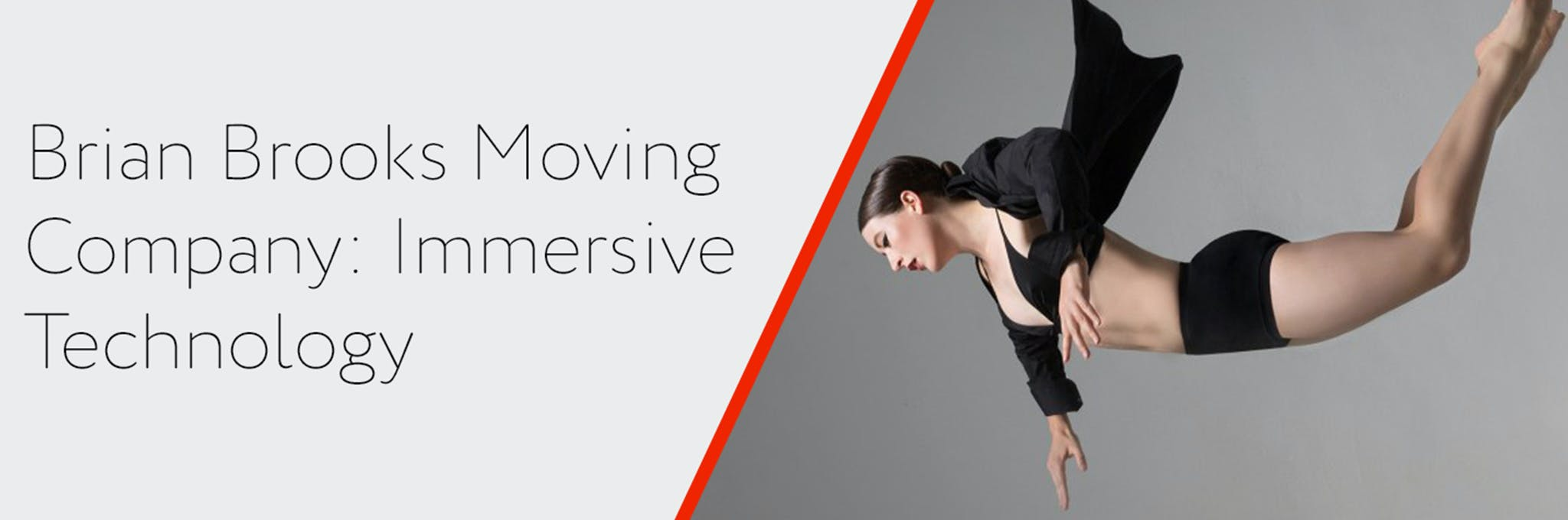 Works & Process at the Guggenheim: Brian Brooks Moving Company: Immersive Technology Logo