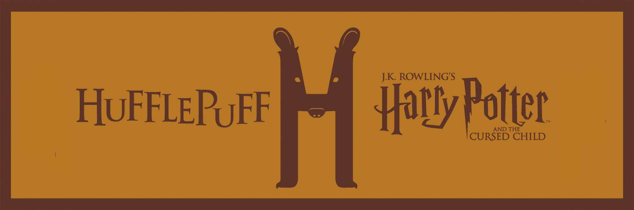 Harry Potter and the Cursed Child - Hufflepuff Lottery Logo