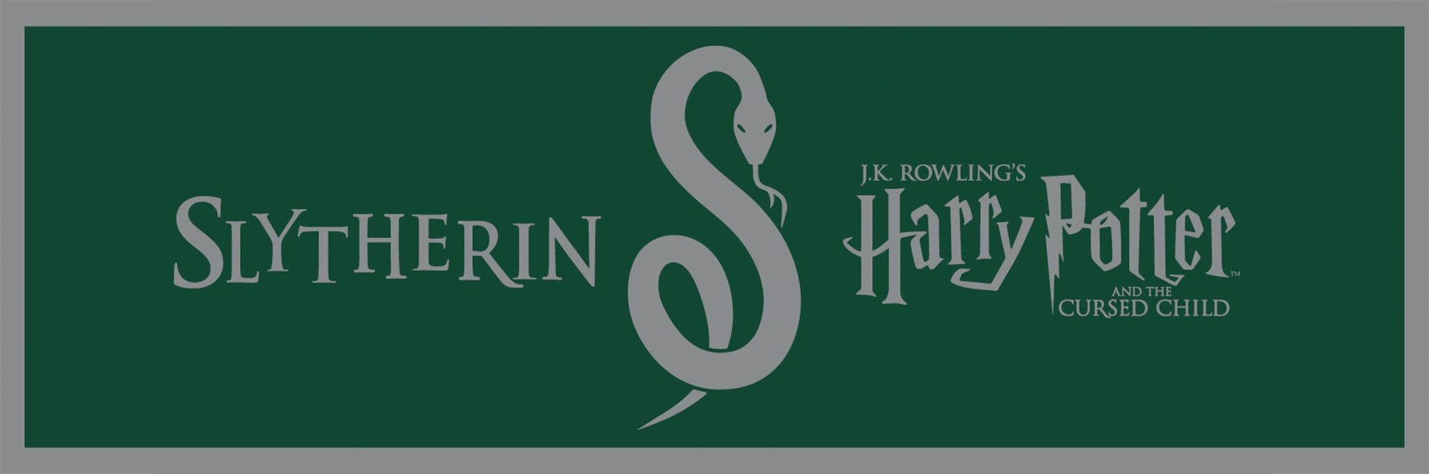 Harry Potter and the Cursed Child - Slytherin Lottery Logo