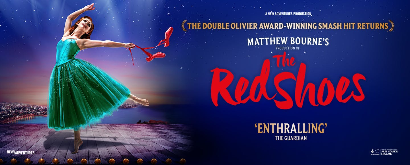 Matthew Bourne's The Red Shoes Logo