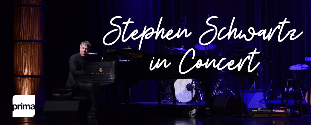 Streamed Performance: Stephen Schwartz in Concert