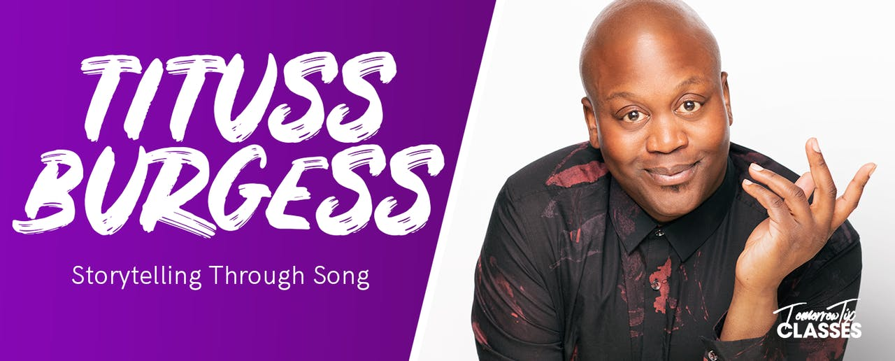 Storytelling through song with Tituss Burgess