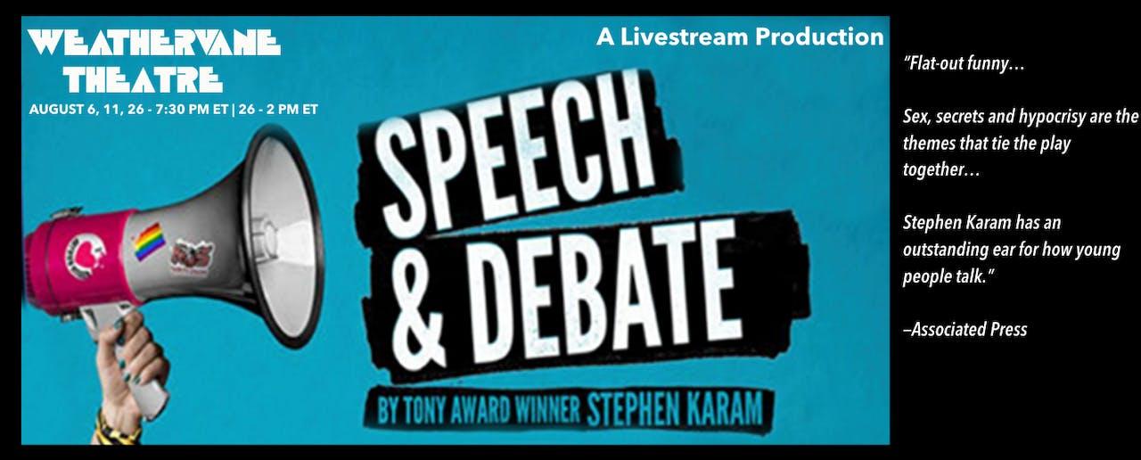 Streamed Performance: Speech & Debate